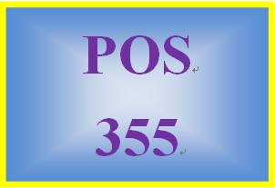 POS 355 Week 3 Learning Team: Operating Systems Project, Part II