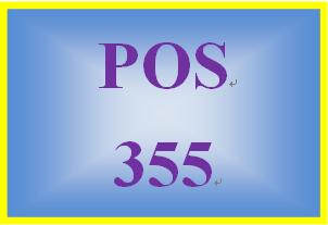 POS 355 Week 3 Individual: File Management