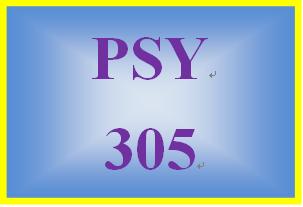 PSY 305 Week 1 Exploring Psychology Careers