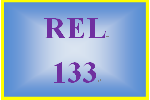REL 133 Week 1 Common Practices in Religion