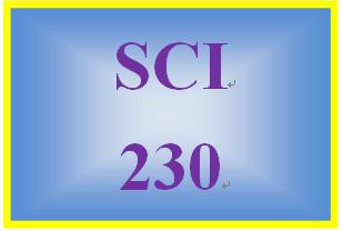 SCI 230 Week 1 Chemistry of Life Worksheet