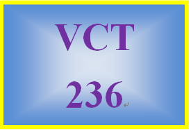 VCT 236 Week 4 Individual: Finalized Banner