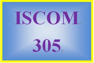 ISCOM 305 Week 5 Case Study