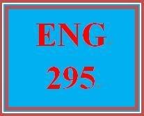 ENG 295 Week 4 Library Visit IV - Fiction