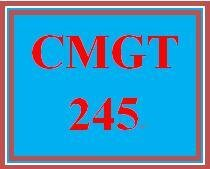 CMGT 245 Week 5 Individual: Final Project Part Two: Cloud Storage-as-a-Service and Course Reflection
