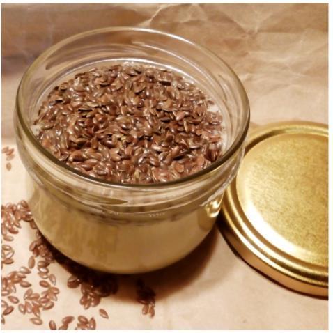 Крем-мёд с семенами льна, 250 мл