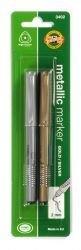 Marker Metallic 2mm Koh-I-Noor Set of 2