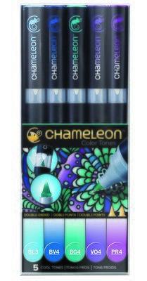 Chameleon 5 Pen Set Cool