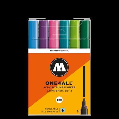 Marker Molotow Acrylic Basic Set 2 ONE4ALL 4mm