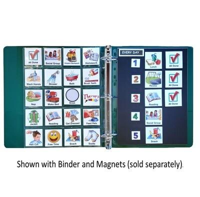 Magnetic Binder Insert