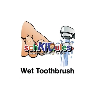 Wet Toothbrush