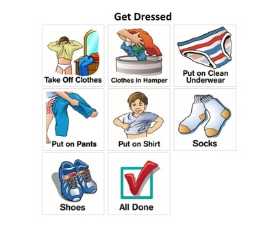 Get Dressed Sequence