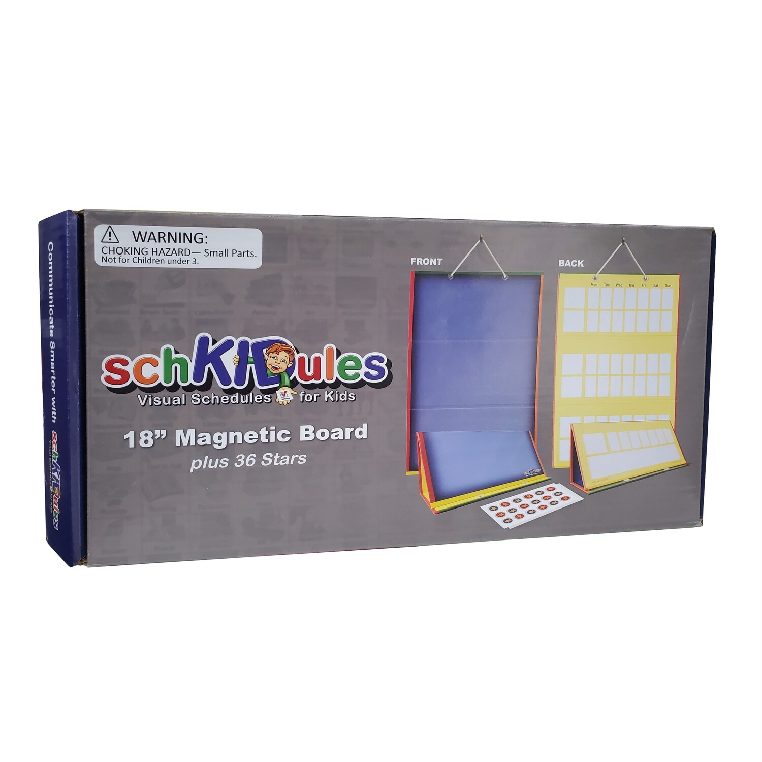 "SchKIDules 2-Sided 18"" Magnetic Board"
