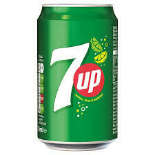 Can of 7up 330cl