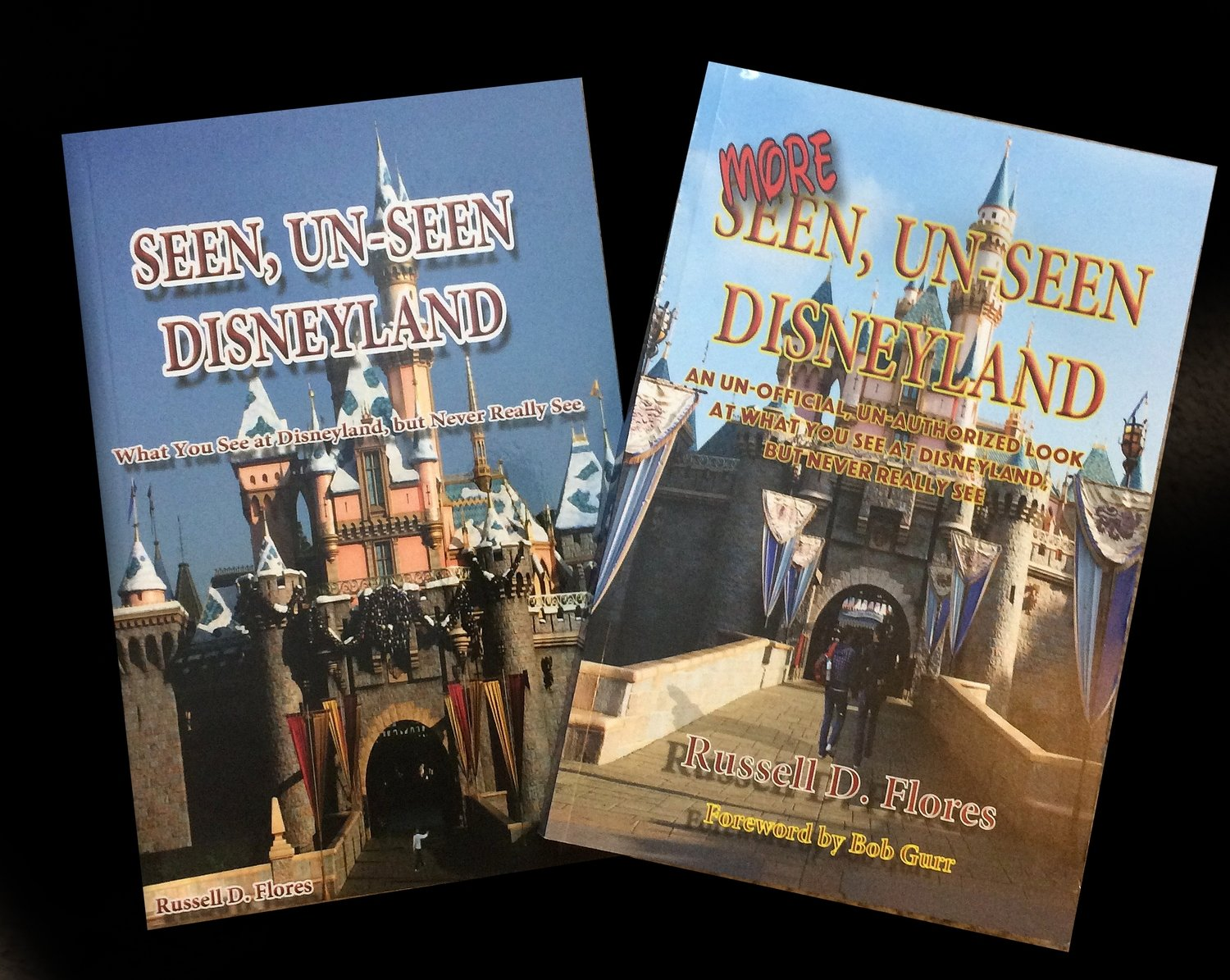 Both Seen and More Seen Un-Seen Disnyeland Books  (Autographed / Regulary $41.90 in stores)
