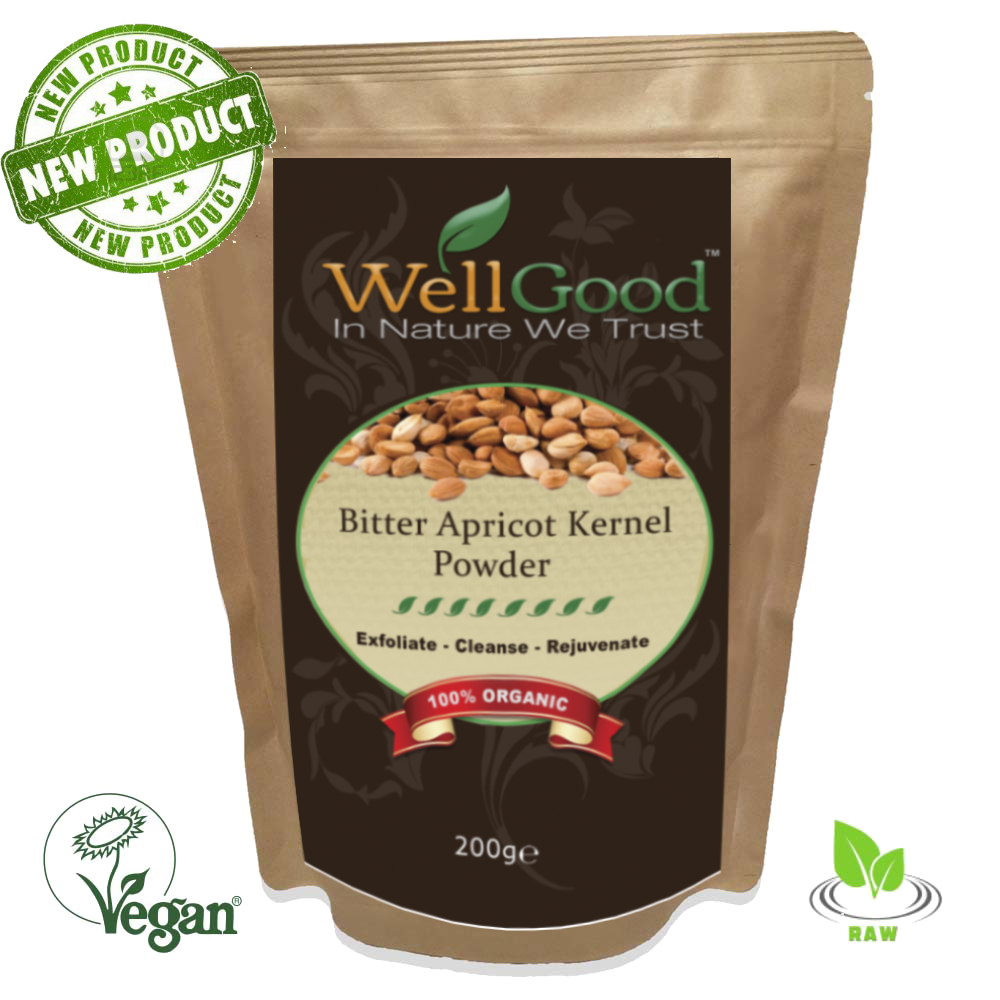 Organic Raw Bitter Apricot Kernel (Ground Powder) 200g