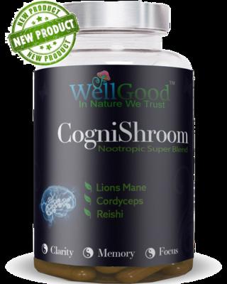 Mushroom Complex 3 - Lions Mane - Cordyceps, Reishi - Super brain health Blend
