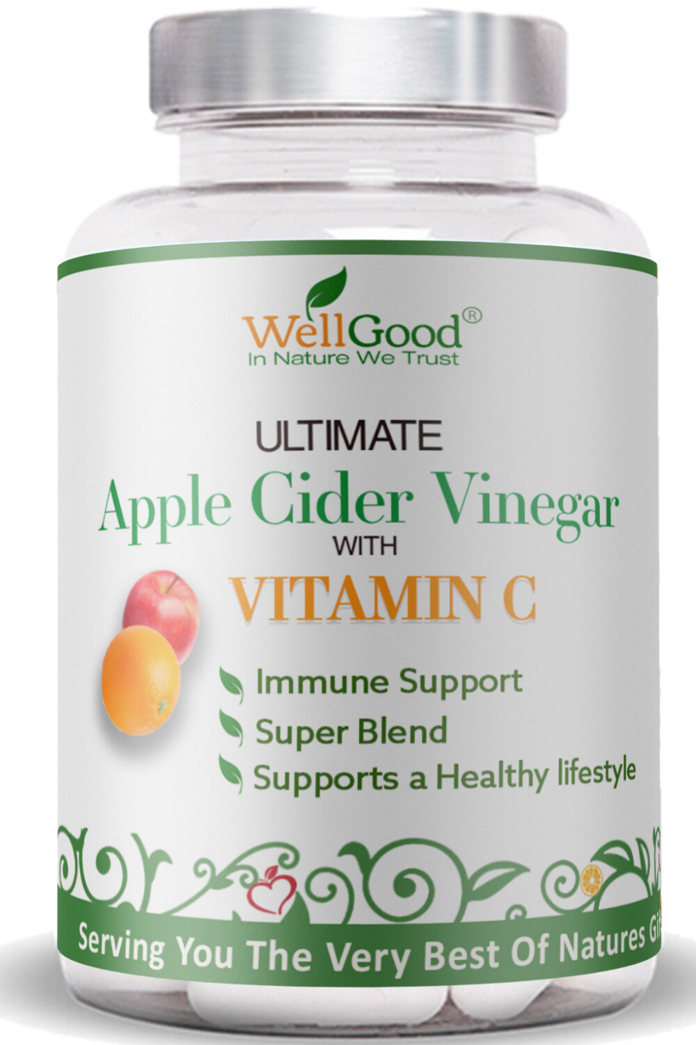 *PRE-ORDER NOW 26/6/20* Pure Apple Cider Vinegar with Vitamin C   6 Week Supply   Ultimate combination for your Immune system