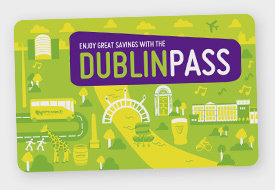 1 DAY DUBLIN CITY PASS - $110.00