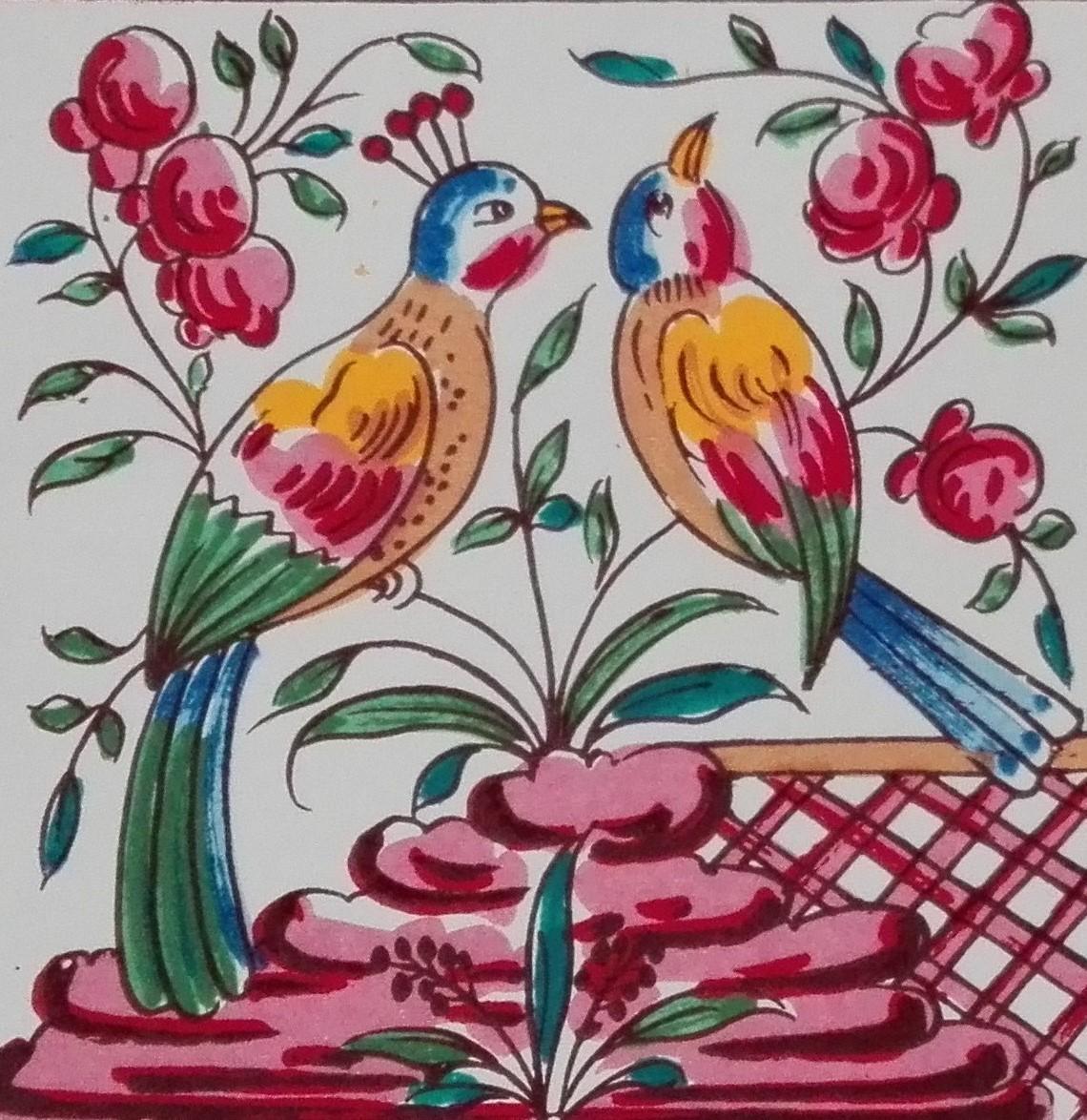 Pássaros Cores 11x11