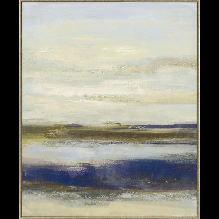 Blue Notes II Giclée on Canvas