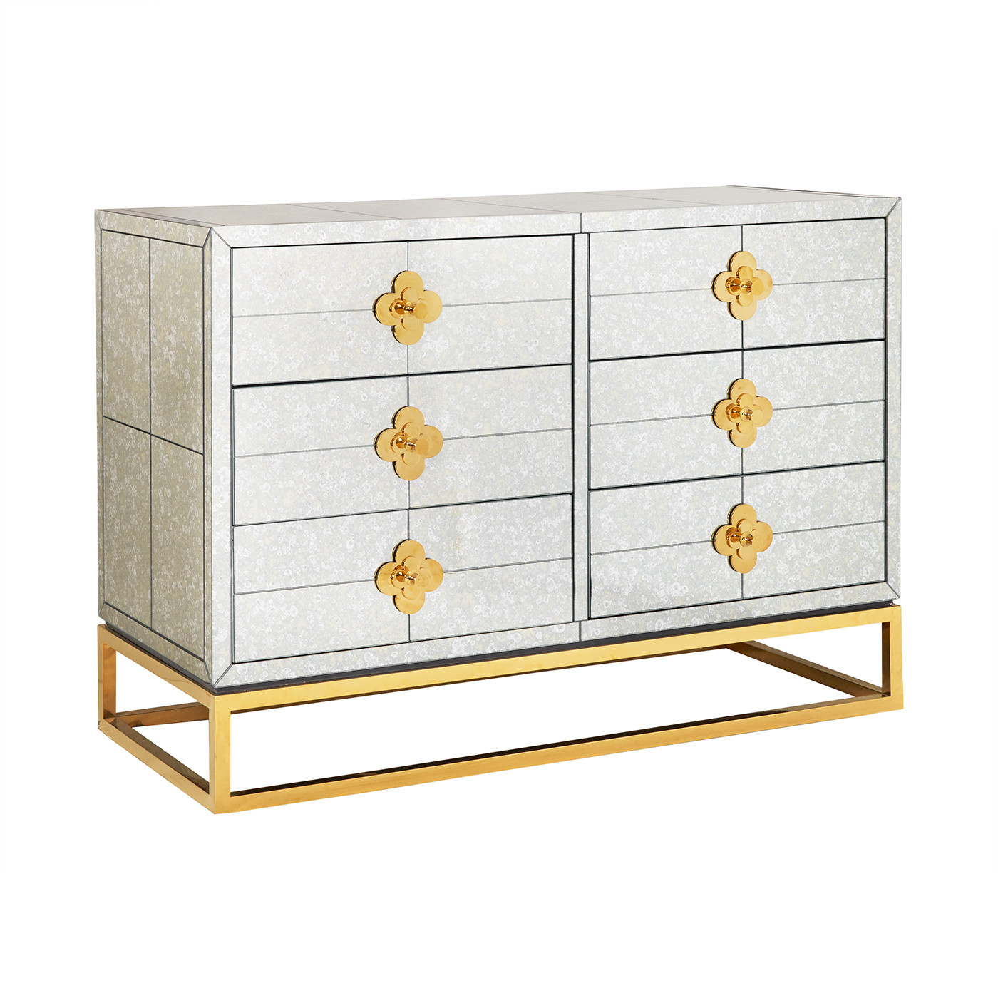 Delphine Six-Drawer Dresser