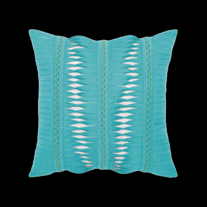 "Elaine Smith Gladiator Aruba 20"" x 20"" Indoor/Outdoor Pillow"