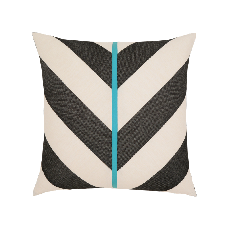 "Elaine Smith Harmony Chevron 20"" x 20"" Indoor/Outdoor Pillow"