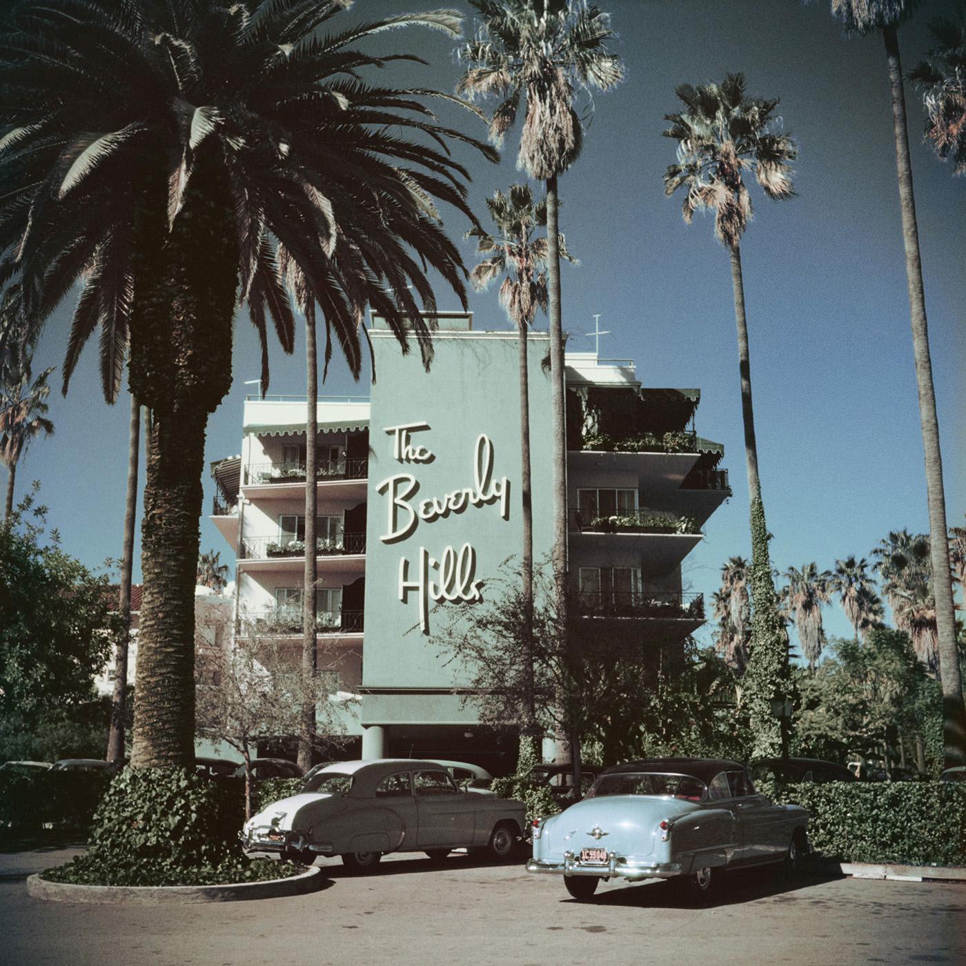 "Slim Aarons ""Beverly Hills Hotel"" Wall Art   Jonathan Adler  2 Sizes"