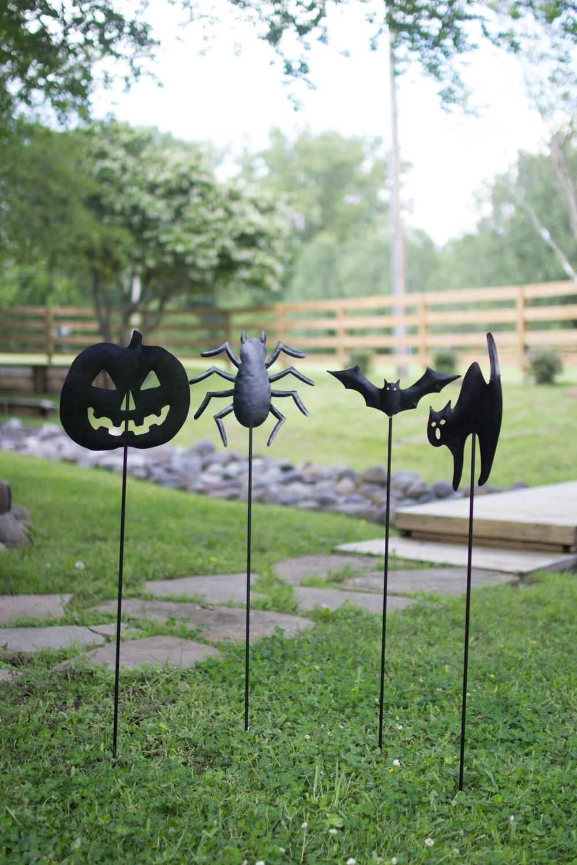 Halloween Yard Stakes | Set of 4