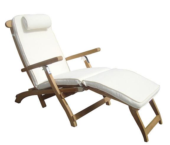 Teak Deck Chaise Lounge | Set of 2