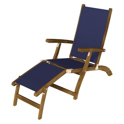 Teak Mesh Chaise Lounge | Set of 2