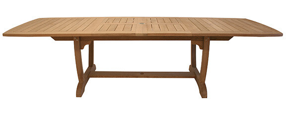 Event Teak Extendable Dining Table    2 Sizes