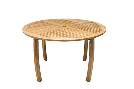South Beach Teak Round Dining Table