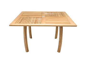 South Beach Teak Square Dining Table