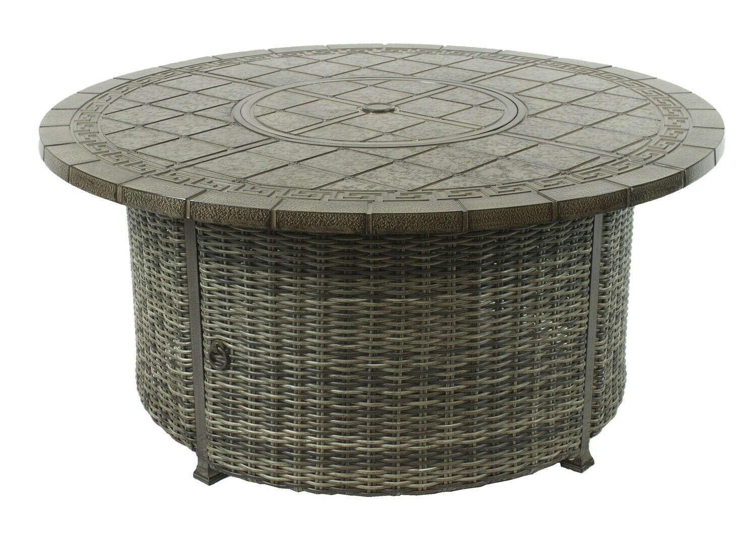 "Allegro Wicker Collection 52"" Fire Pit"