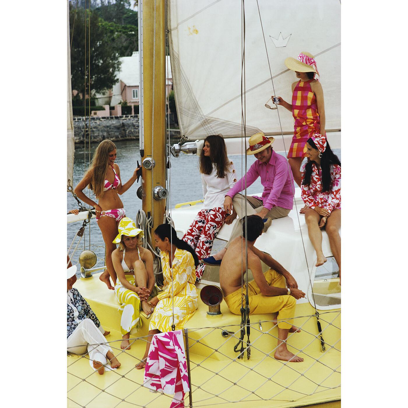 "Slim Aarons ""Colourful Crew"" Photograph   Jonathan Adler"