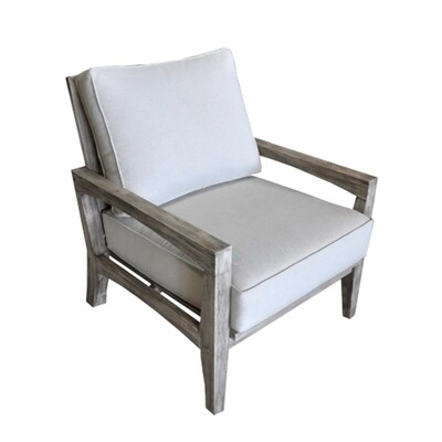 Beach Side Teak Club Chair