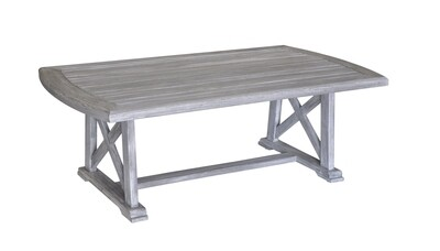 Beach Side Teak Rectangular Dining Table