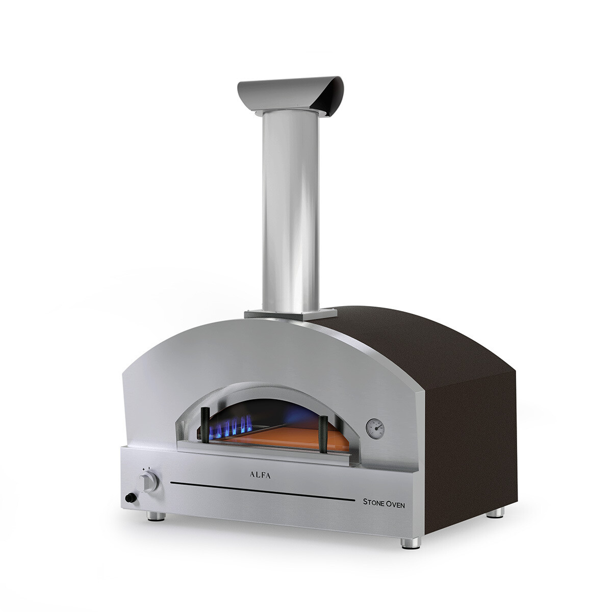 "Alfa Stone Large 31"" Gas Pizza Oven"