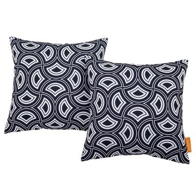 Mask 2 Piece Outdoor Pillow Set 17