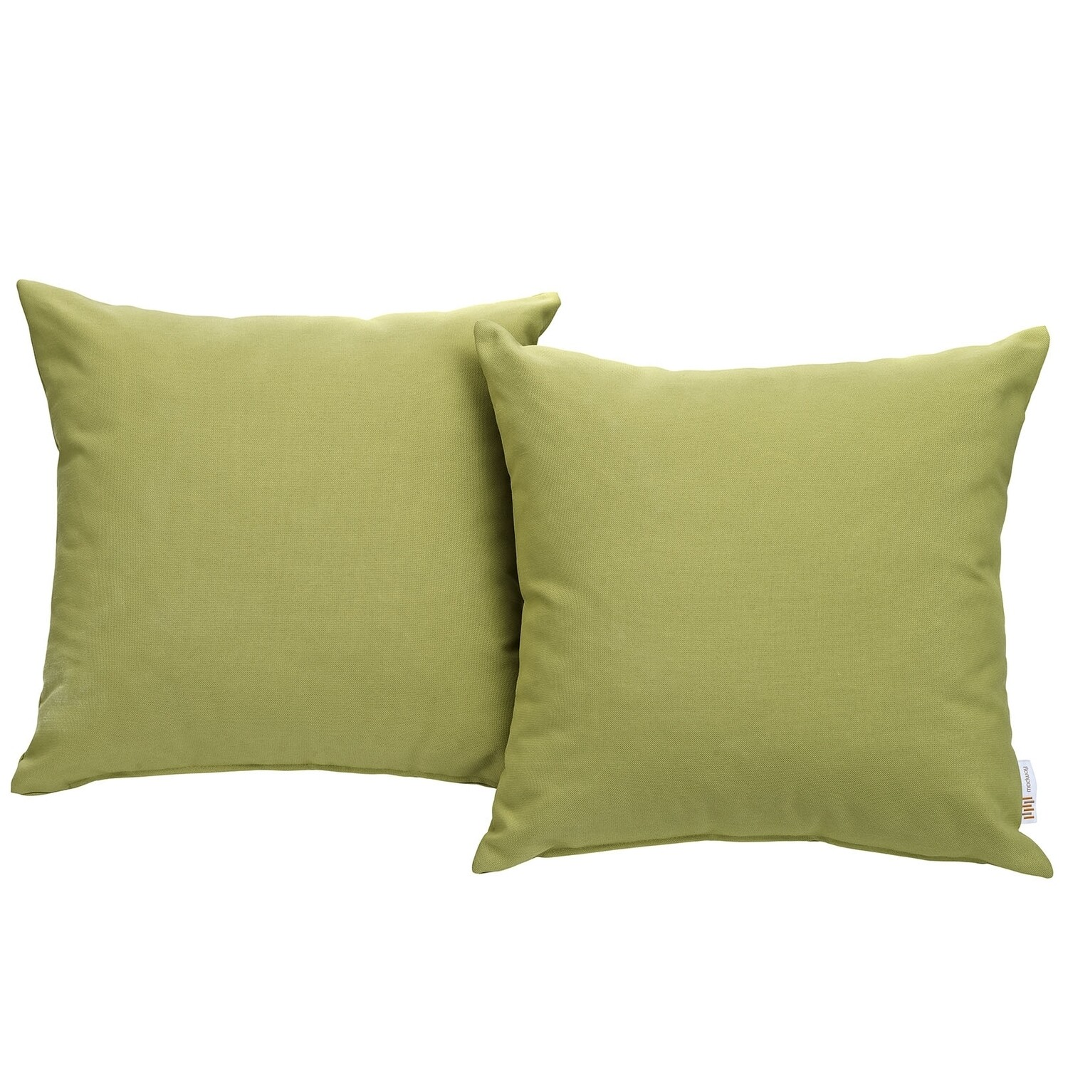 """Hinsdale Patio 2 Piece Pillow Set  17"""" x 17"""" in Peridot"""