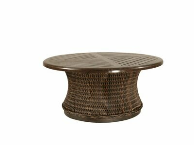 Monticello Round Woven Coffee Table Base