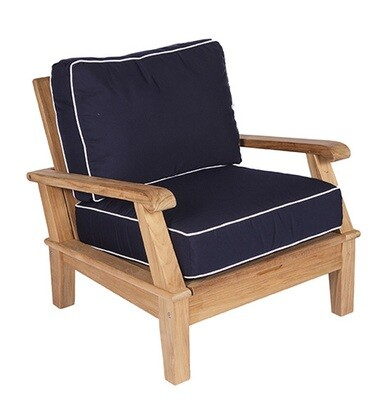 South Beach Teak Reclining Club Chair
