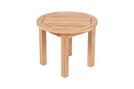 South Beach Teak Round Side Table