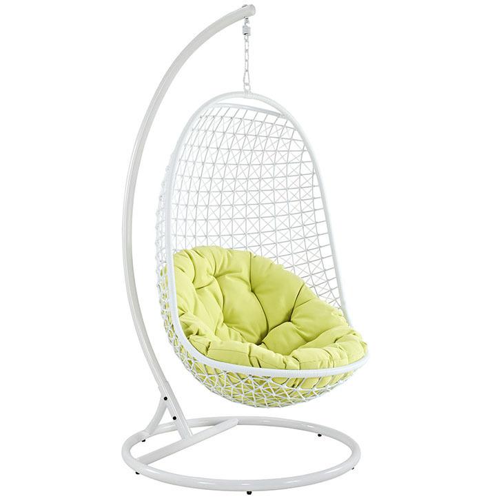 Enchant Swing Lounge Chair | White