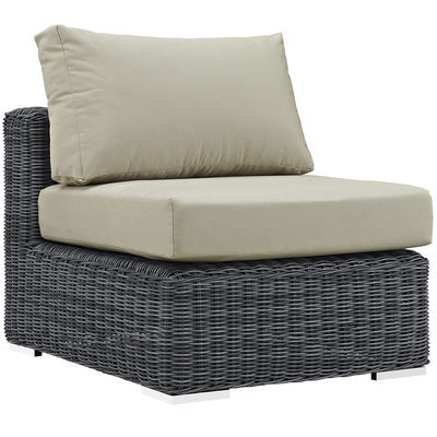 North Avenue Patio Sectional Armless with Sunbrella® Cushion
