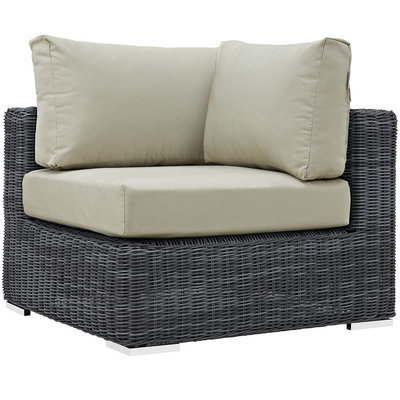 North Avenue Patio Sectional Corner with Sunbrella® Cushion
