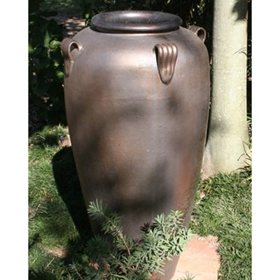 Tall 4 Handle Urn