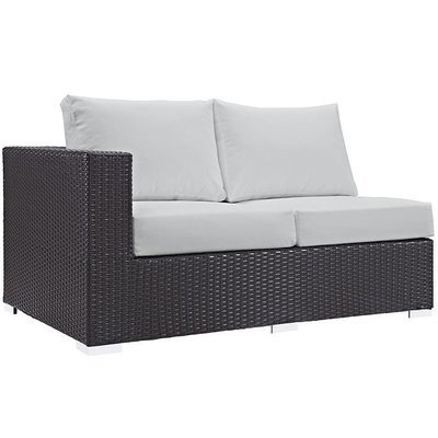Hinsdale Patio Left Arm Loveseat Sectional
